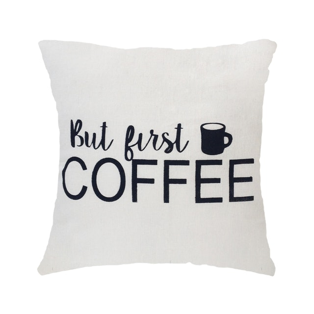 Stiletto In Style Cushion Cover But First, Coffee 40 X 40Cm