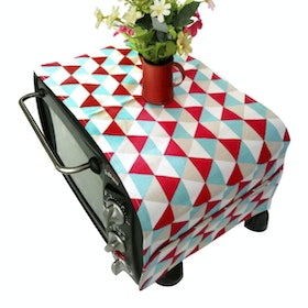 Stiletto Living Cover Microwave / Cover Oven - Triangle Tosca Red