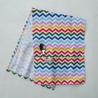Stiletto Living Cover Microwave / Cover Oven - Rainbow Chevron