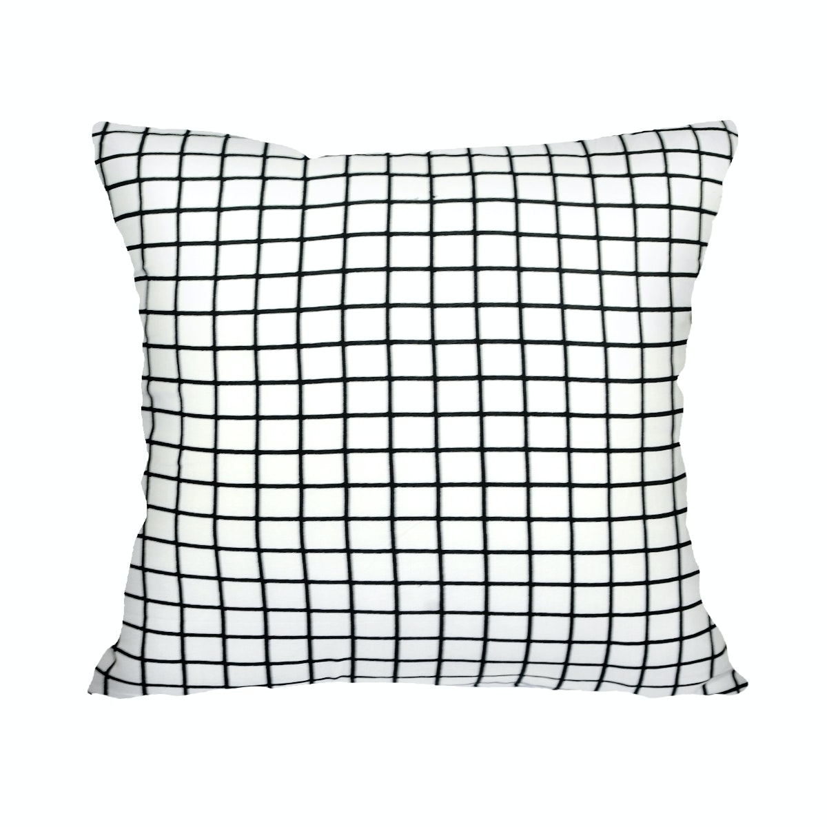 Stiletto In Style Cushion Cover / Sarung Bantal Monokrom - Bw White Square