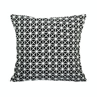 Stiletto Living Cushion Cover / Sarung Bantal Monokrom - Bw Retro