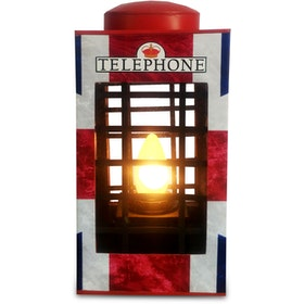 SONJA LAMP Telephone Box - Union Jack
