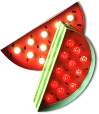 Sonja Lamp Watermelon Lamp