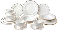 Saint James Premium Tableware Cameo Gold Dinner Set 20pcs