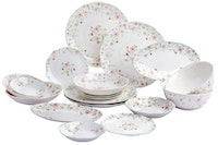Saint James Premium Tableware Michelle National Dinning Set 24pcs