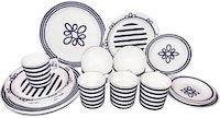 Saint James Premium Tableware Blue Knot Dinner Set 20pcs