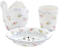 Saint James Premium Tableware Linen Flower Bath Set 4pcs