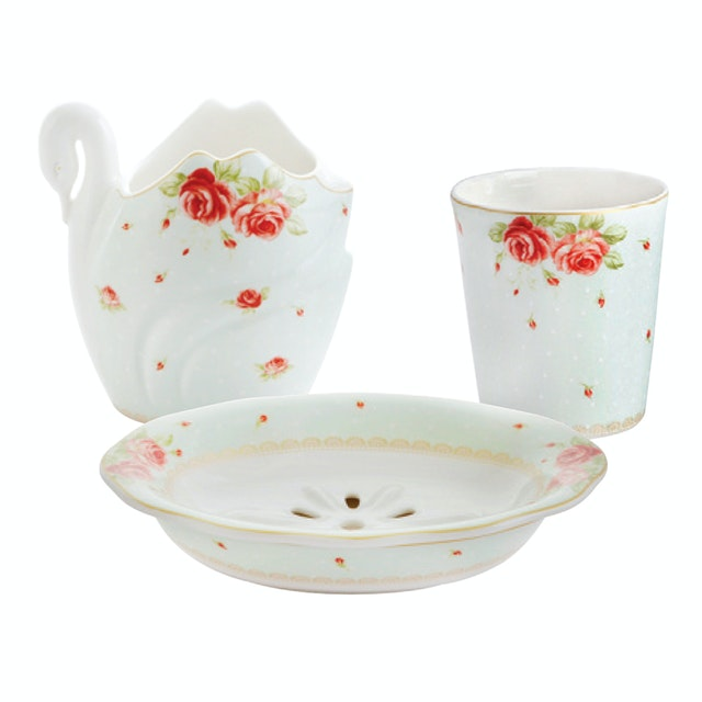 Saint James Premium Tableware The Rose Bath Set 4pcs