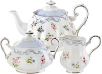 Saint James Premium Tableware Linen Flower Tea Set 5pcs