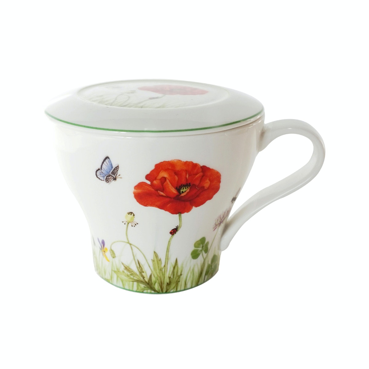Saint James Premium Tableware Blade Poppy Mug Set 2pcs