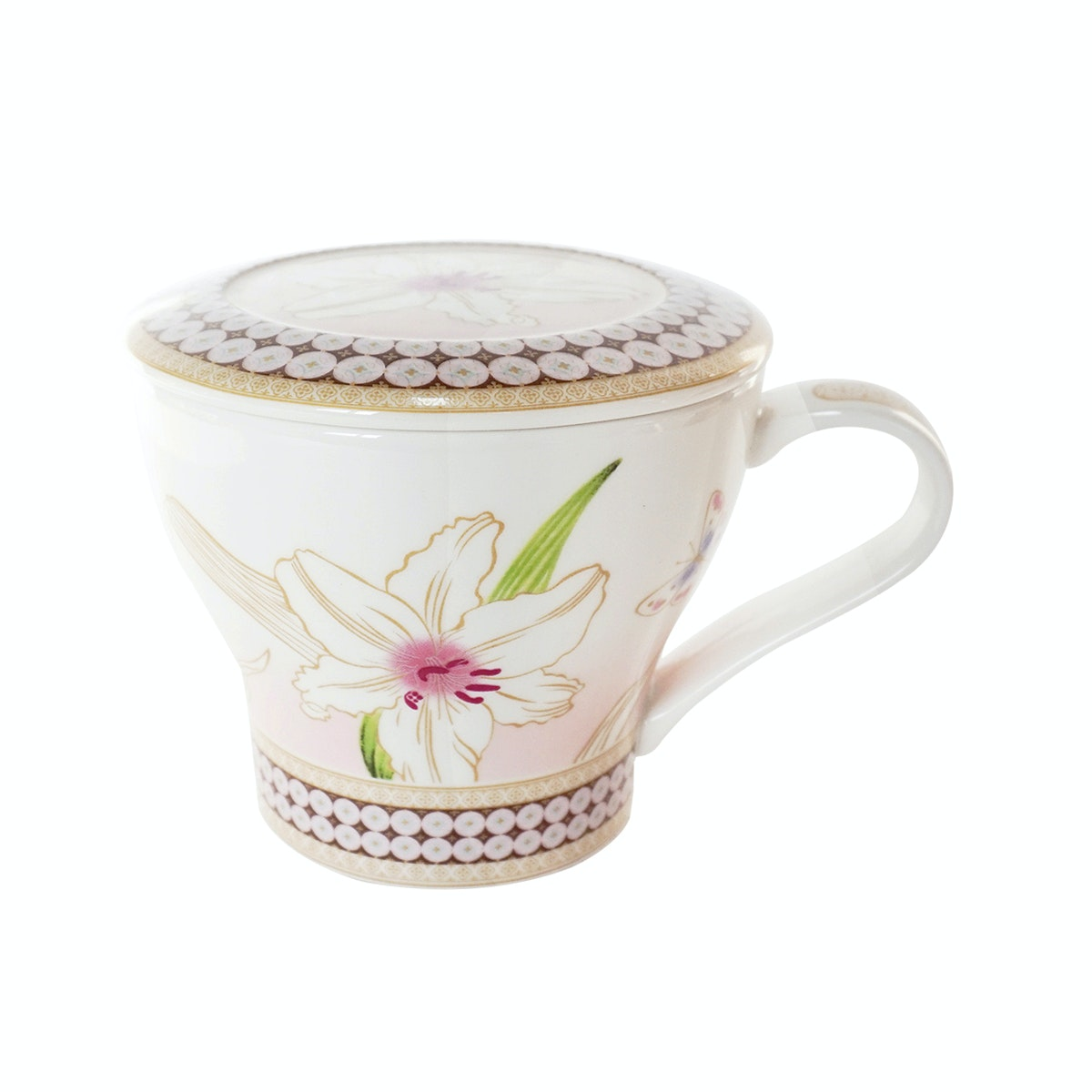 Saint James Premium Tableware Harmony Peach Mug Set 2pcs