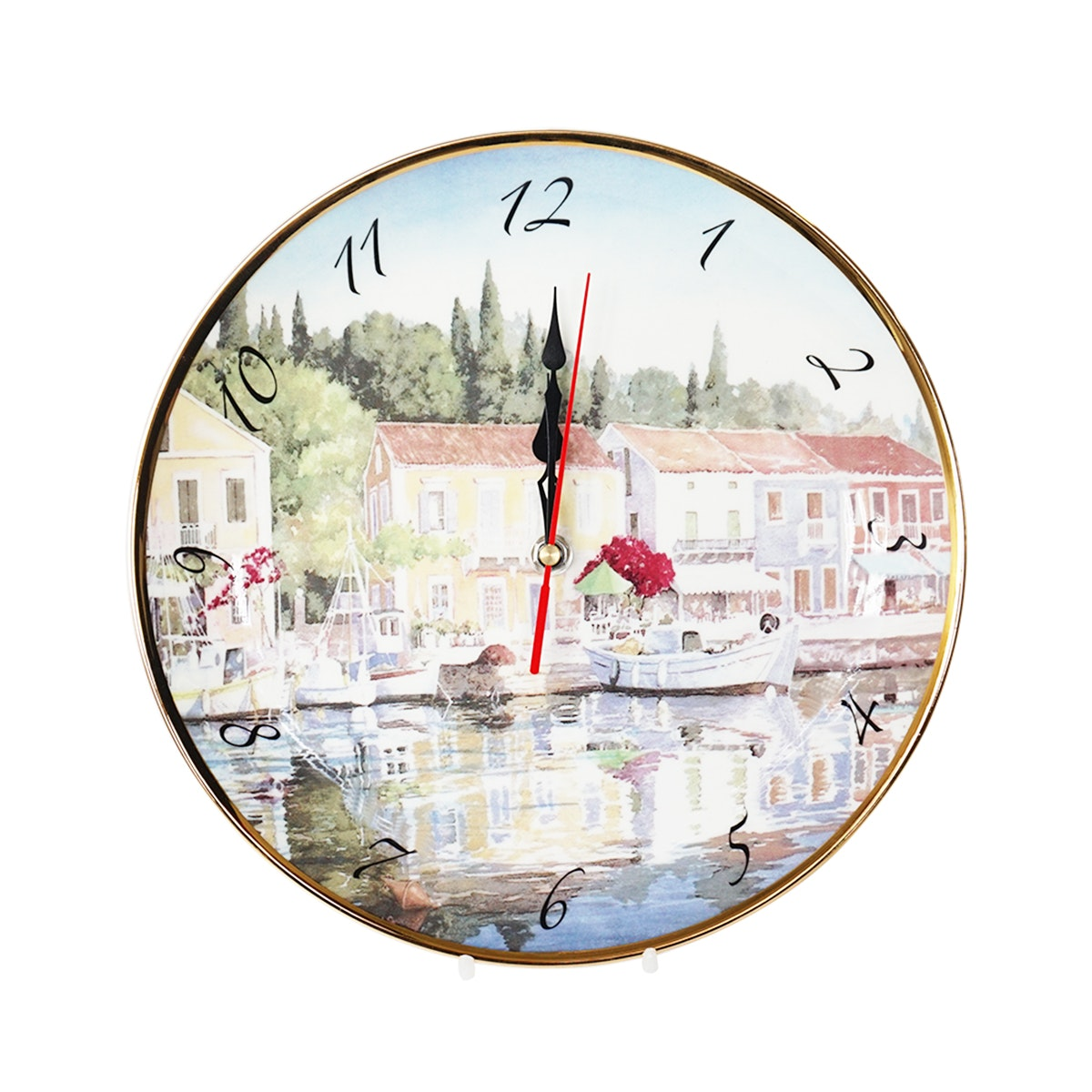 Saint James Premium Tableware Ship 2 Clock Plate