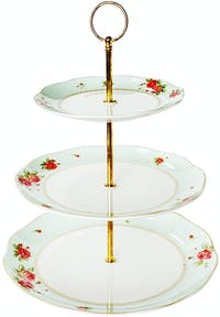 Saint James Premium Tableware The Rose Cake Stand 3pcs