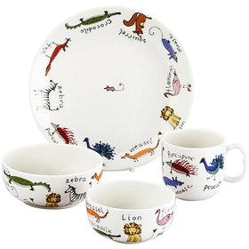 Saint James Premium Tableware Animal Magic Kid Set 4pcs