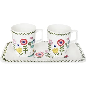 Saint James Premium Tableware Little Garden Mug Set 3pcs