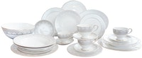 Saint James Premium Tableware Rococo Late Gray Dinning Set 24pcs