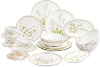 Saint James Premium Tableware Garden Gate Dinning Set 24pcs