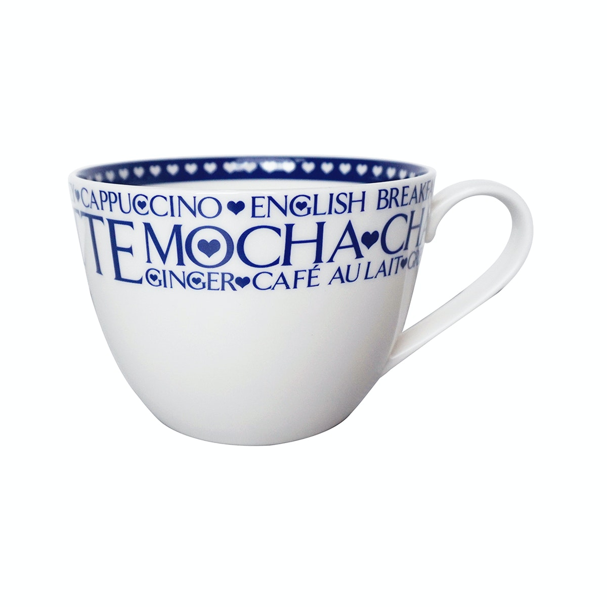 Saint James Premium Tableware Mug AT 16 Oz Words
