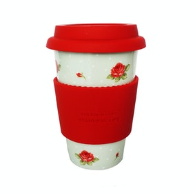 Saint James Premium Tableware Eco Mug No Handle The Rose