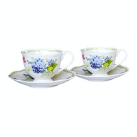 Saint James Premium Tableware Coffee Set Esly 2 Blue (4) pcs