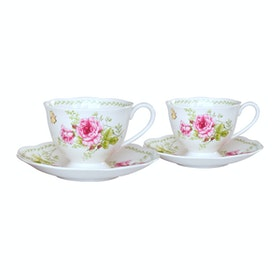 Saint James Premium Tableware Coffee Set Esly 2 Pink (4) pcs