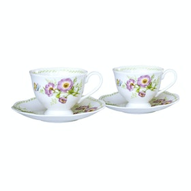 Saint James Premium Tableware Coffee Set Esly 2 Purple (4) pcs