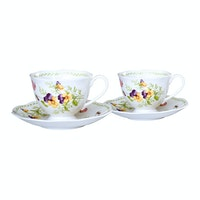 Saint James Premium Tableware Coffee Set Esly 2 Yellow (4) pcs