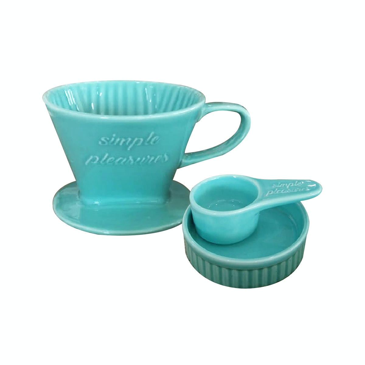 Saint James Premium Tableware Aqua Blue Glaze