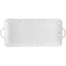 Anna Kim by Saint James Lace Rect Tray 39 cm