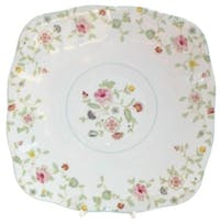 "Saint James Premium Tableware 10 3/4"" Square Plate Michelle"