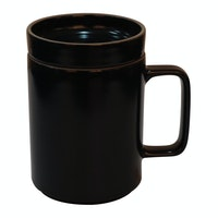Saint James Premium Tableware Long Mug w/c 420 ml Two Way Black Glaze