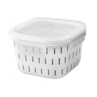 Saint James Premium Tableware 6 Inch Square Box (V) H Z & L (Straw Light)