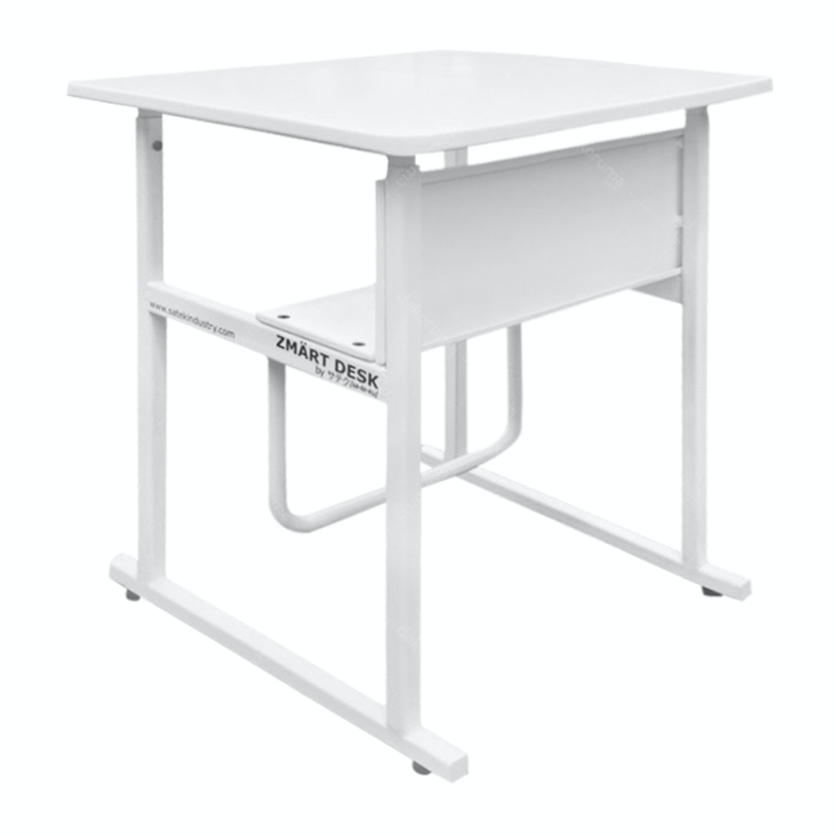 Zmart Desk Kinesthetic Standing-Sitting Desk Putih