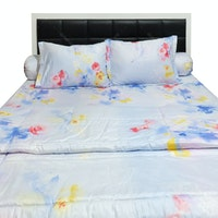 Sleep Buddy Set Sprei dan Bed Cover City Light Cotton Sateen 160x200x30