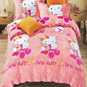 Sleep Buddy Set Sprei Love Kids Sutra Aloe Vera 180x200x30