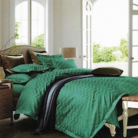 Sleep Buddy Set Sprei Chevron Jacquard Cotton 180x200x40