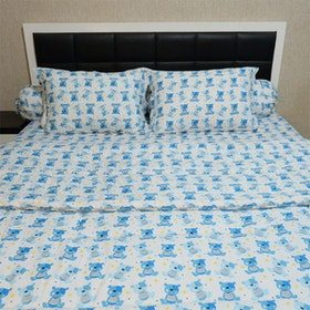 Sleep Buddy Set Sprei Dan Bed Cover Little Bernard Cvc 200x200x30