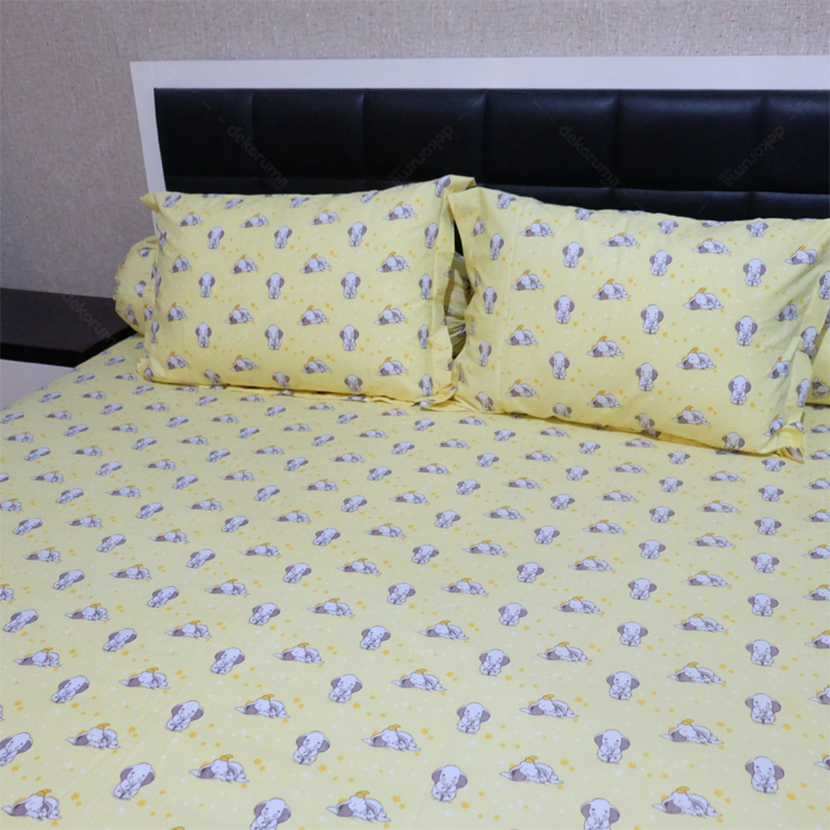 Sleep Buddy Set Sprei Sleepy Dumbo Cvc 120x200x30