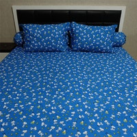 Sleep Buddy Set Sprei Snoopy Navy CVC 160x200x30