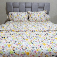 Sleep Buddy Set Sprei dan bed cover Small Tsum CVC 180x200x30
