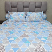 Sleep Buddy Set Sprei Blue Trilogy CVC 160x200x30