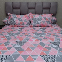 Sleep Buddy Set Sprei Pink Trilogy CVC 180x200x30