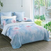 Sleep Buddy Set Sprei dan bed cover Fara Tencel 160x200x30