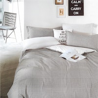 Sleep Buddy Set Sprei dan bed cover Hound Square Cotton Sateen 200x200x30