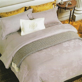 Sleep Buddy Set Sprei dan Bed Cover Brown Sutra Tencel 180x200x40
