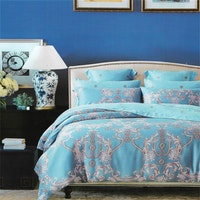 Sleep Buddy Set Sprei dan Bed Cover Shaking Carve Organic Cotton 120x200x30