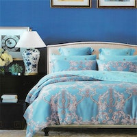 Sleep Buddy Set Sprei dan Bed Cover Shaking Carve Organic Cotton 180x200x30