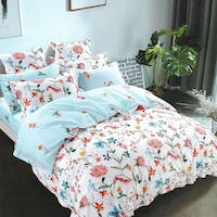 Sleep Buddy Set Sprei Shine Flower Cotton Sateen 180x200x30
