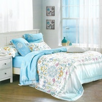 Sleep Buddy Set Sprei Blue Butter Organic Cotton 160x200x30
