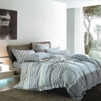 Sleep Buddy Set Sprei dan Bed Cover Urban Organic Cotton 120x200x30